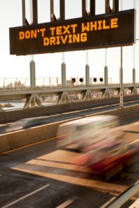 texting & driving auto accidents